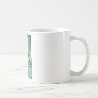 Pregnant Woman with Lotus Flowers Classic White Coffee Mug