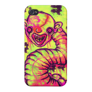 Pregnant Worm Clown! iphone4 cover iPhone 4 Case