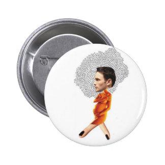 Pregoman Pinback Button