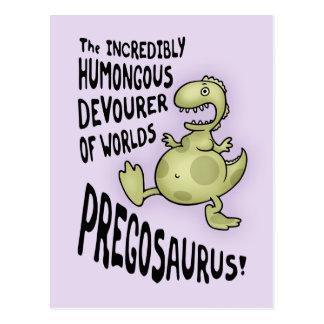 Pregosaurus Tarjetas Postales