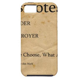 Pregunta agradable del destructor del constructor iPhone 5 Case-Mate protector