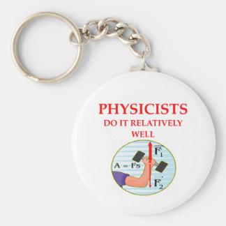 pregunta de la física llavero personalizado