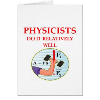 pregunta de la física tarjeta