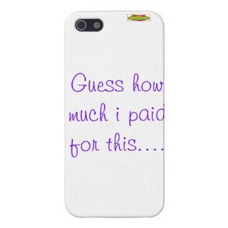 pregunta divertida del iphone iPhone 5 carcasas