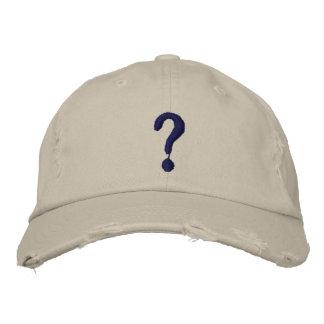 ¿Pregunta Gorra bordado Gorras Bordadas