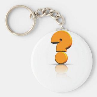 Pregunta Llavero Redondo Tipo Pin