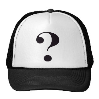 pregunta-marca gorras de camionero