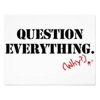 Pregunta todo invitacion personalizada