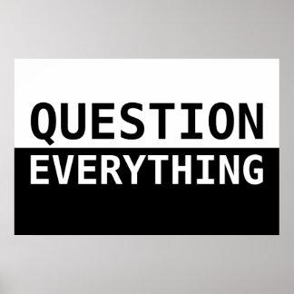Pregunta todo posters