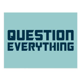 Pregunta todo postal