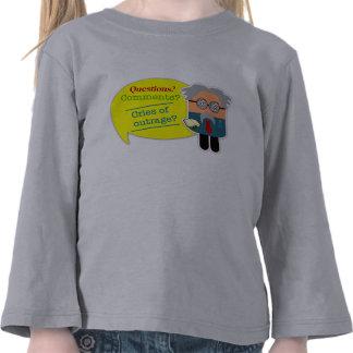¿ Preguntas Comentarios Profesor Kids Long Slee Camiseta