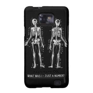 Preguntas esqueléticas para Halloween Samsung Galaxy S2 Fundas