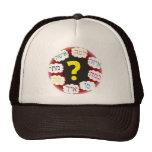 Preguntas hebreas gorras de camionero