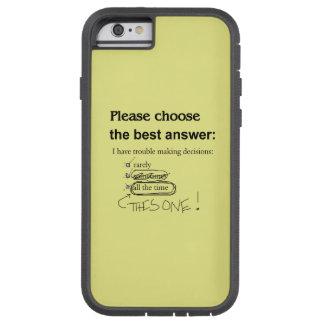 Preguntas indecisas de la opción múltiple funda de iPhone 6 tough xtreme