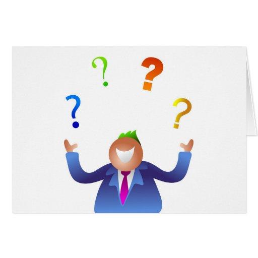Preguntas que hacen juegos malabares tarjetón