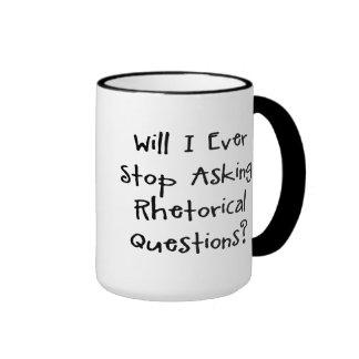 Preguntas retóricas taza de café