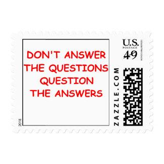 preguntas sellos