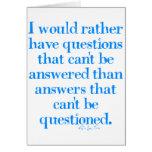 Preguntas y respuestas felicitaciones