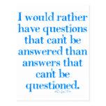 Preguntas y respuestas postal