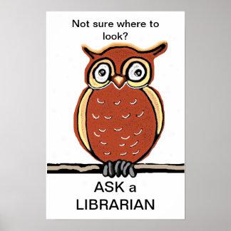 Pregunte a bibliotecario impresiones