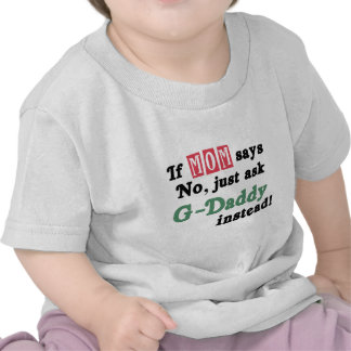Pregunte a G-Papá en lugar de otro Camisetas