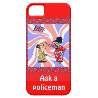Pregunte a policía iPhone 5 fundas