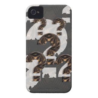 PREGUNTE cada cosa: Sobre todo SU PRECAUCIÓN de iPhone 4 Case-Mate Cobertura