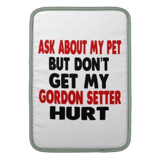 Pregunte por mi organismo de Gordon Funda MacBook