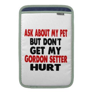 Pregunte por mi organismo de Gordon Funda Macbook Air