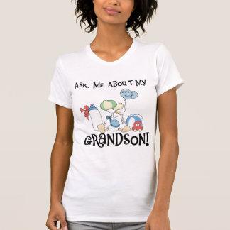 Pregunte por mis camisetas y regalos del nieto