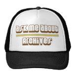 Pregúnteme acerca de archivos gorras de camionero