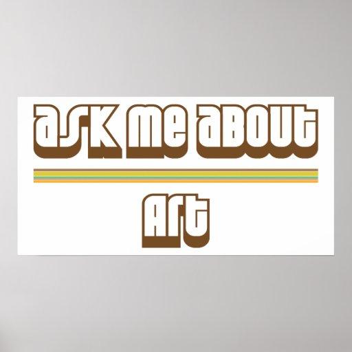 Pregúnteme acerca de arte impresiones