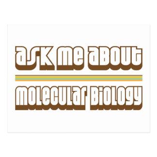 Pregúnteme acerca de biología molecular tarjeta postal
