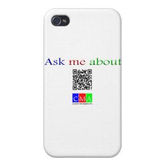 pregúnteme acerca de código de Q iPhone 4 Protectores