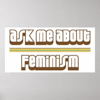 Pregúnteme acerca de feminismo impresiones
