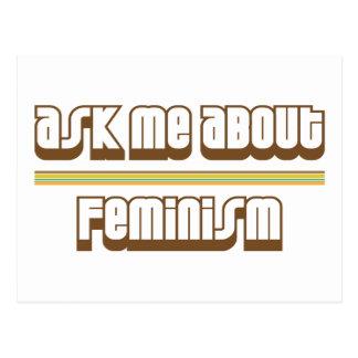 Pregúnteme acerca de feminismo postal