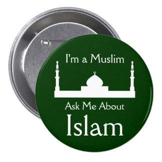 Pregúnteme acerca de Islam Pin Redondo 7 Cm
