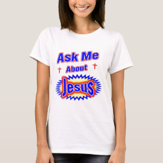 Pregúnteme acerca de Jesús Playera