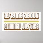 Pregúnteme acerca de justicia penal poster