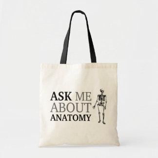 Pregúnteme acerca de la anatomía bolsa tela barata