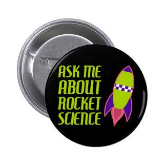 Pregúnteme acerca de la ingeniería espacial pin redondo de 2 pulgadas