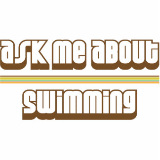 Pregúnteme acerca de la natación escultura fotográfica