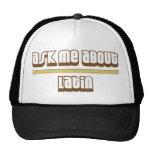 Pregúnteme acerca de latín gorras de camionero