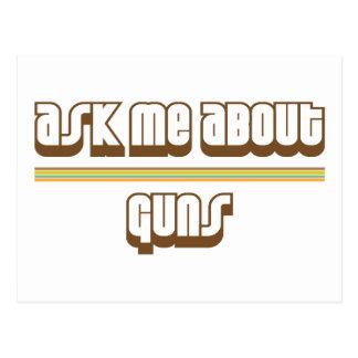 Pregúnteme acerca de los armas tarjetas postales