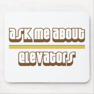 Pregúnteme acerca de los elevadores alfombrillas de ratón