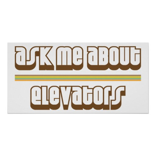 Pregúnteme acerca de los elevadores impresiones