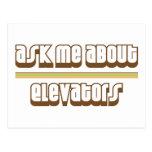 Pregúnteme acerca de los elevadores postales