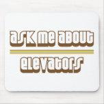 Pregúnteme acerca de los elevadores alfombrillas de ratones