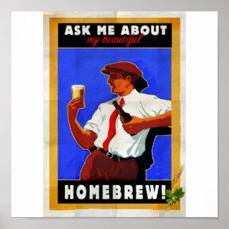 Pregúnteme acerca de mi brew casero poster