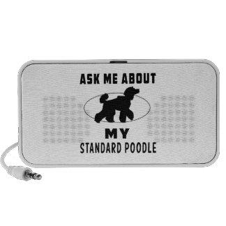 Pregúnteme acerca de mi caniche estándar mp3 altavoz